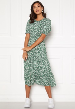 Happy Holly Tris dress Green / Patterned Bubbleroom.se