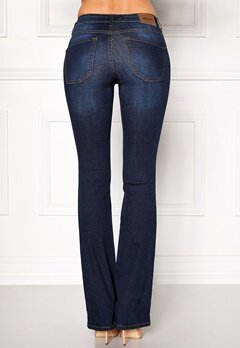 Happy Holly Uma bootcut jeans Dark denim Bubbleroom.fi