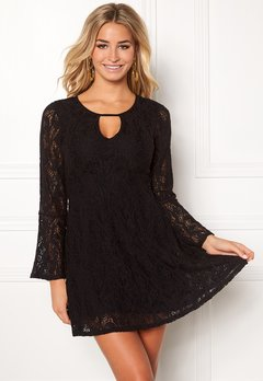 Happy Holly Vanessa lace dress Black Bubbleroom.fi