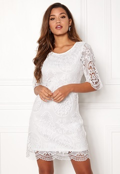 Happy Holly Vicky lace dress White Bubbleroom.dk