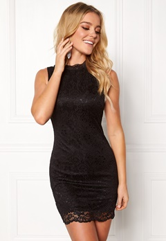 Happy Holly Vienna lace dress Black Bubbleroom.se