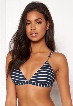 Happy Holly Zandra bikini bra Navy / Striped Bubbleroom.se
