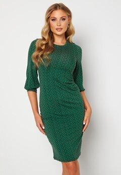 Happy Holly Zona dress Green / Floral Bubbleroom.se