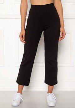 Happy Holly Maisie tricot pants Black Bubbleroom.se
