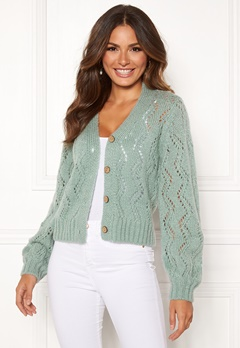 Happy Holly Angelina lace cardigan Mint green Bubbleroom.se