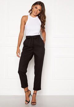 Happy Holly Sarah utility pants Black Bubbleroom.se