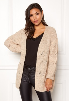 ONLY Havana L/S Long Cardigan Pumice Stone Bubbleroom.se