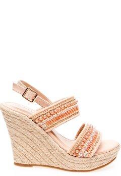 Have2have Sandaletter med kilklackar, Sandy Ljust rosa Bubbleroom.se