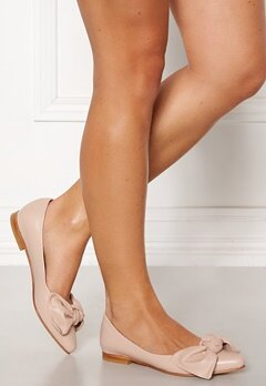 Heelow Sophia Leather Bow Nude Pink Bubbleroom.se
