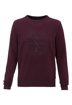 Henri Lloyd Mains Crew Neck Knit PRT Bubbleroom.se