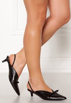Henry Kole Amelie Leather Sandals Black Bubbleroom.se