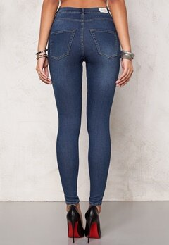 CHEAP MONDAY High Spray Jeans Mid Blue Bubbleroom.eu
