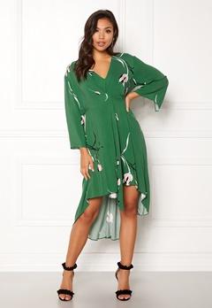 DAGMAR Hirae Dress Green Print Bubbleroom.se