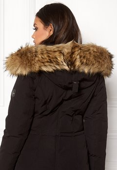Hollies Collar Fake Fur Natur Bubbleroom.se