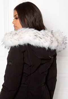 Hollies Collar Fake Fur White Bubbleroom.se