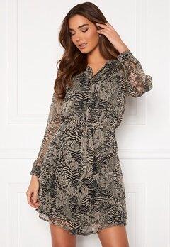 ICHI Assip Dress Oxford Tan Bubbleroom.se