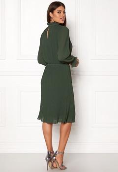ICHI Blair Dress Pineneedle Bubbleroom.se