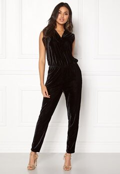 ICHI Cati Jumpsuit Black Bubbleroom.se