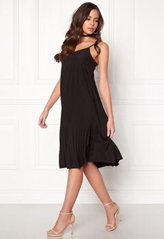 ICHI Cinovo Dress Black Bubbleroom.se