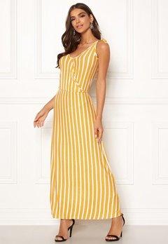 ICHI Clayton Dress 17018 Old Gold Bubbleroom.se