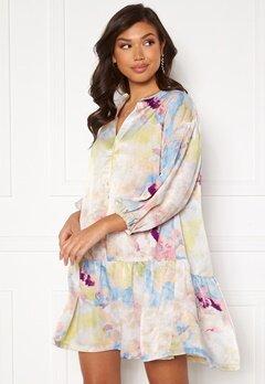 ICHI Cloudy Dress Multi Color bubbleroom.se