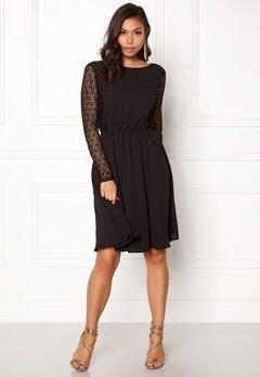 ICHI Croso Dress Black Bubbleroom.no
