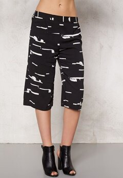 ICHI Edi Pants 10001 Black Bubbleroom.se