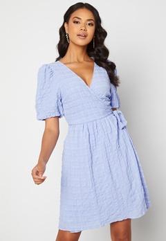 ICHI Gelby Dress Cashmere Blue Bubbleroom.se