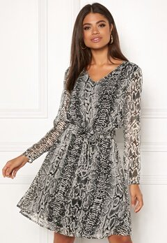 ICHI Inger Dress Feather Gray Bubbleroom.se