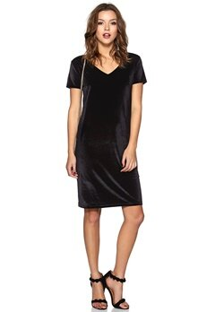 ICHI Kadla Dress 10001 Black Bubbleroom.fi