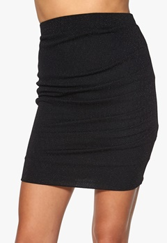 ICHI Kammia Skirt 10001 Black Bubbleroom.fi