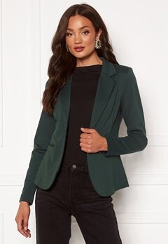 ICHI Kate Blazer Darkest Spruce Bubbleroom.se