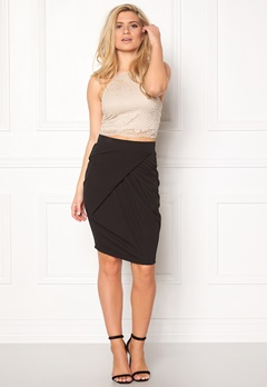 ICHI Keen Skirt Black Bubbleroom.se