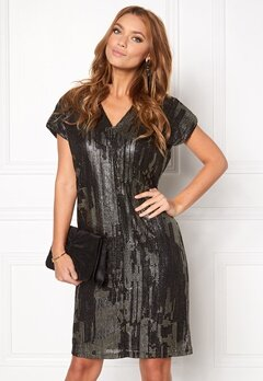 ICHI Limana dress 10001 Black Bubbleroom.se