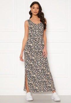 ICHI Lisa Long Dress Tan Bubbleroom.se