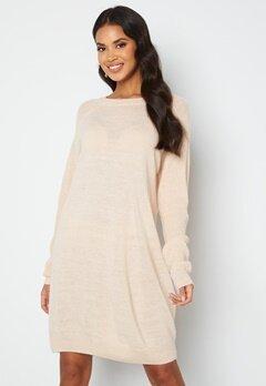 ICHI Novo Knitted Dress 133801 Crystal Gray bubbleroom.se