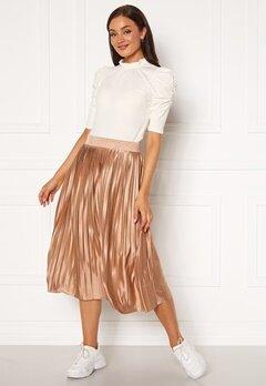 ICHI Pleat Skirt Natural Bubbleroom.se
