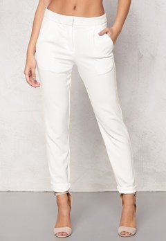 ICHI Sirit Pants 10100 White Bubbleroom.no