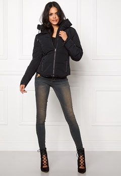ICHI Snappi Jacket Black Bubbleroom.fi