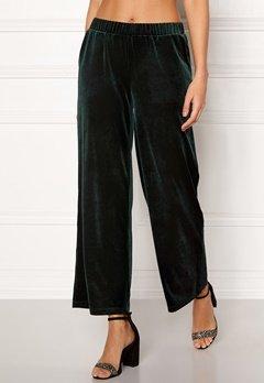 ICHI Velvet Pants Green Gables Bubbleroom.se