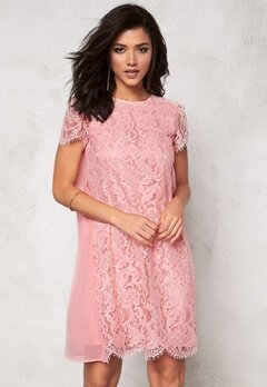 Ida Sjöstedt Eve Dress Pink Bubbleroom.fi