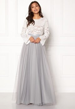 Ida Sjöstedt Farrah Tulle Skirt Grey Bubbleroom.no