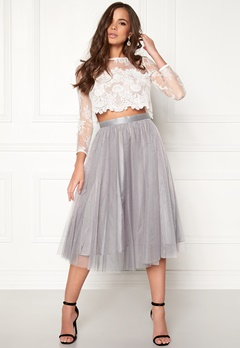 Ida Sjöstedt Flawless Skirt Grey Bubbleroom.fi