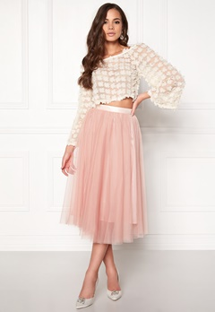 Ida Sjöstedt Flawless Skirt Peach Bubbleroom.se