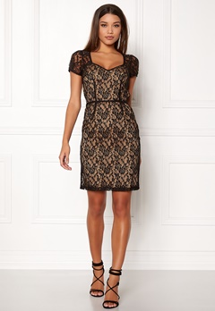 Ida Sjöstedt Gloria Dress Lace Black Bubbleroom.no