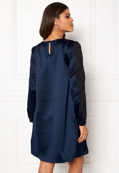 Ida Sjöstedt Lula Dress Navy Bubbleroom.no