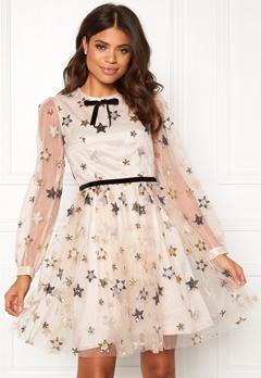 Ida Sjöstedt Macaron Dress Star Tulle Cream Bubbleroom.se