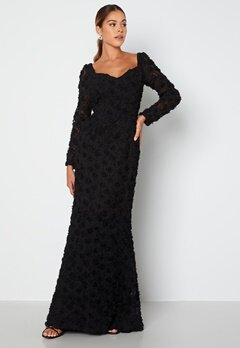 Ida Sjöstedt Selena Dress Black Bubbleroom.se