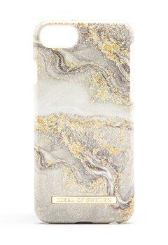 iDeal Of Sweden Fashion Case iPhone Sparkle Greige Marbl Bubbleroom.se