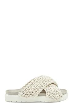 INUIKII Slipper Woven 101 White Bubbleroom.se